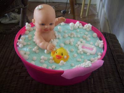 Bath Time Bubbles Cake