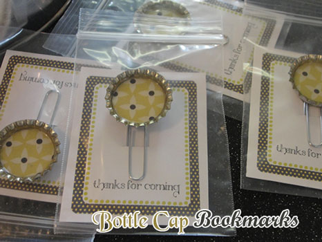 bookmark baby shower favors