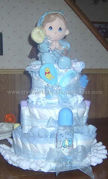precious moments diaper cake