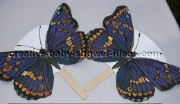 butterfly fan crafts