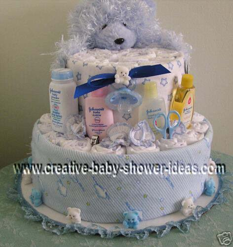 video on how to make a diaper cake