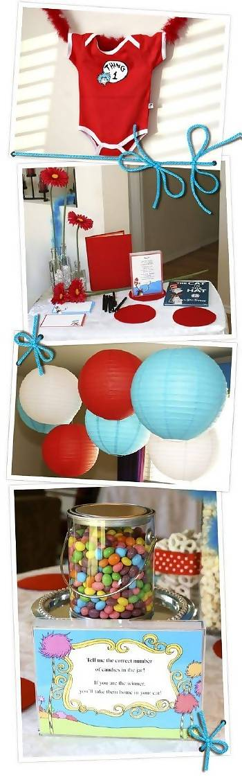 dr seuss baby shower decorations