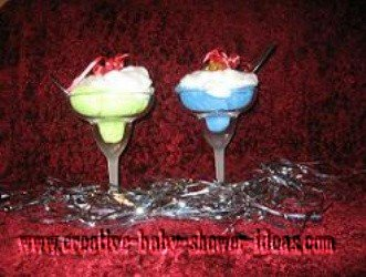 washcloth ice cream sundae