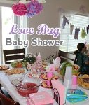 love bug baby shower