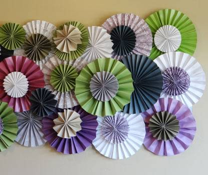 How To Make A Rosette Backdrop