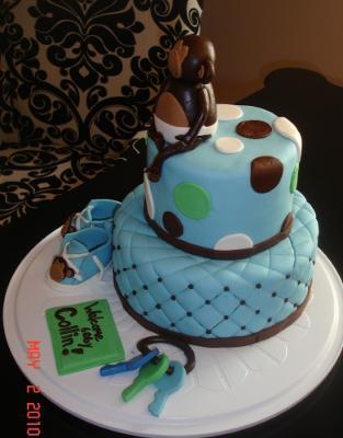 Baby Monkey Cake