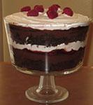 raspberry chocolate trifle