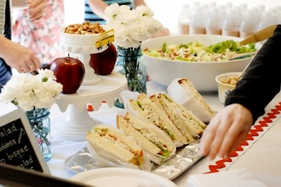 back to school baby shower food