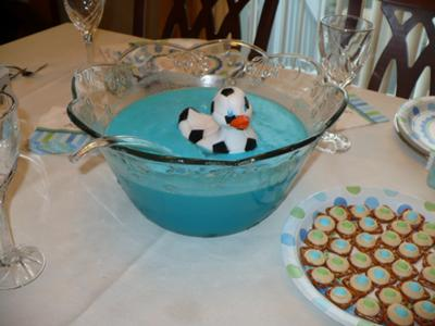Baby Blue Punch and Soccer Duckie!